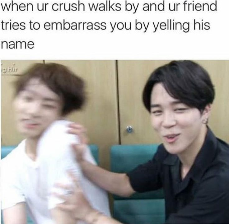 Stahpp it (although this would never happen to me coz my crush is IN KOREA and is an INTERNATIONAL STAR :'(