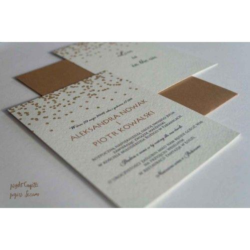 Zaproszenia ślubne Confetti by Cartolina - wedding invitations