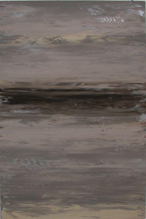 "Saatchi Online Artist: Alexandra Dickens; Acrylic, 2012, Painting ""Silver Whisper"""