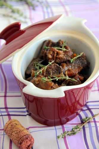 Beef cheeks are absolutely delicious, succulent and gelatinous. PS Beef cheeks are homely. Forget the name and the look, keep going: you are in for a treat!