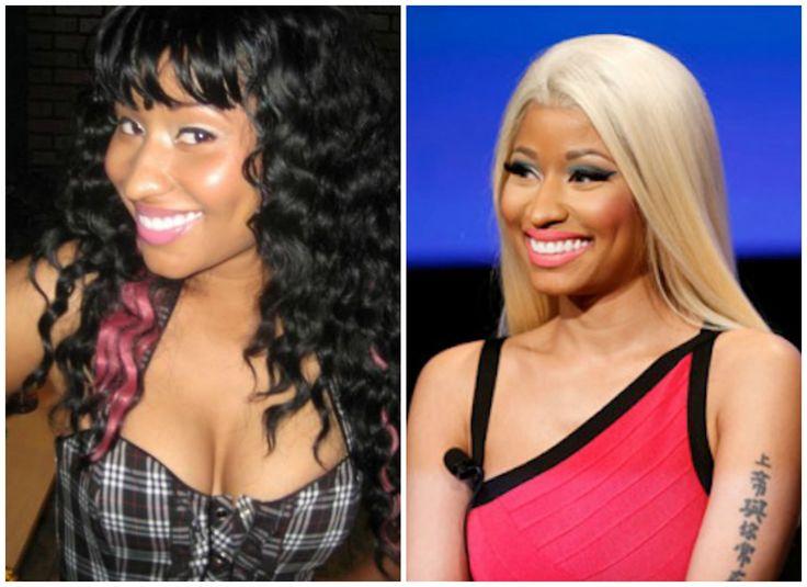 Знаменитости до и после, Известные люди тогда и сейчас, Ники Минаж до и после