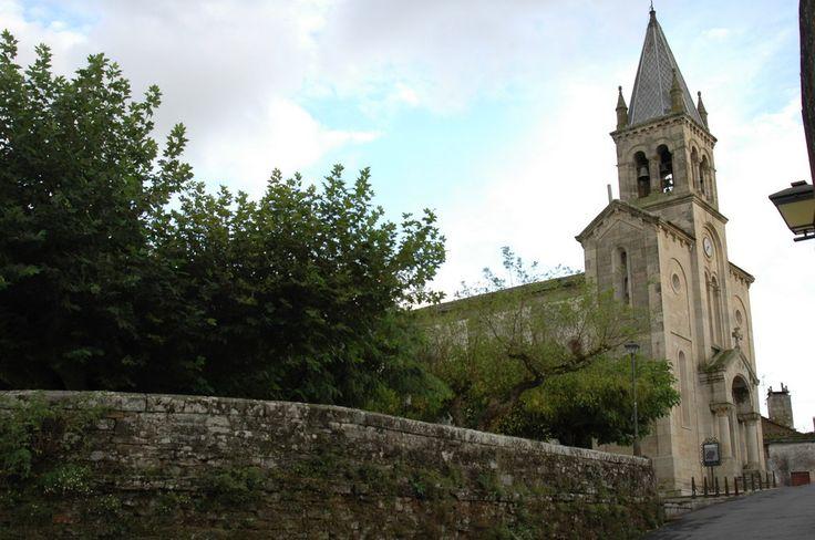 Iglesia de Santa Mariña, Sarria, Lugo, Camino de Santiago