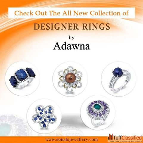 Want to buy silver rings online in India????? Visit Sonal's Bijoux & Adawna to get best jewelleries with elegant designs to save time and money
