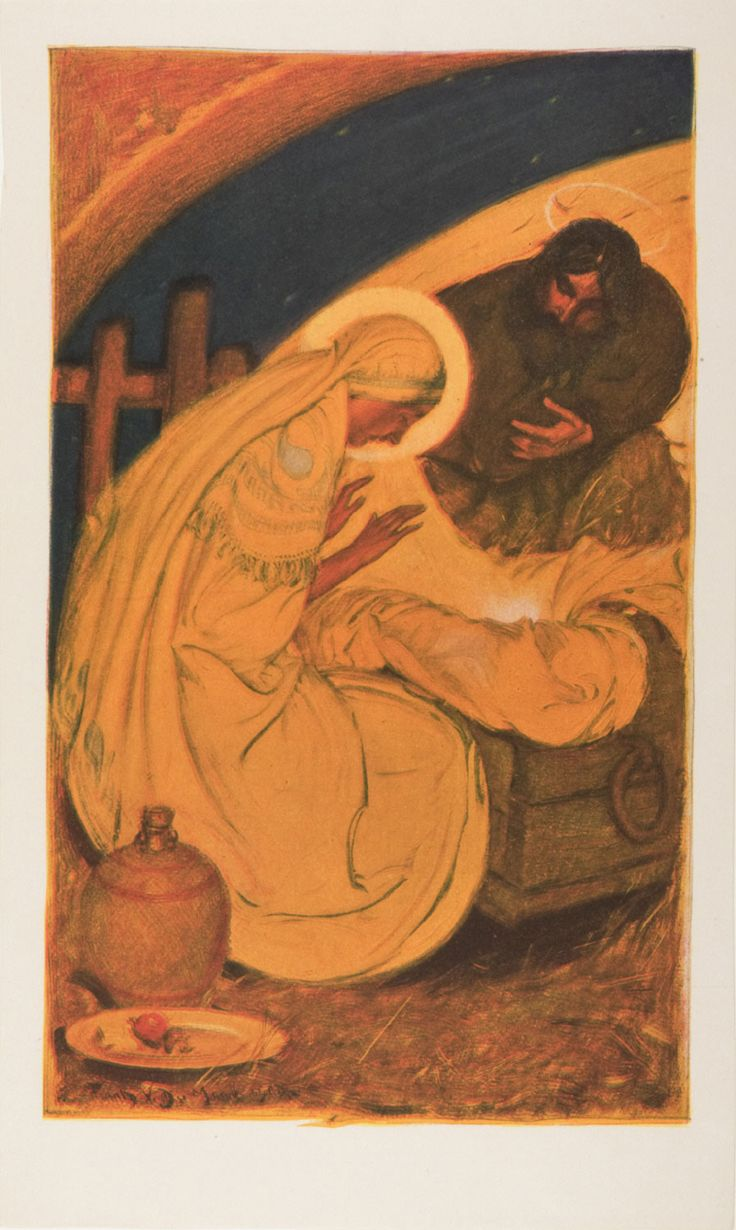 Nativity / Natividad del Señor // c. 1900 // USA, Artist/maker unknown // © Philadelphia Museum of Art  //  #Jesus #Christ #Christmas #Navidad #Noël #Natale #VirginMary #SaintJoseph