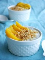 Sago with Mango and Toasted Coconut