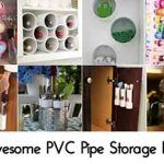 25 Awesome PVC Pipe Storage Projects