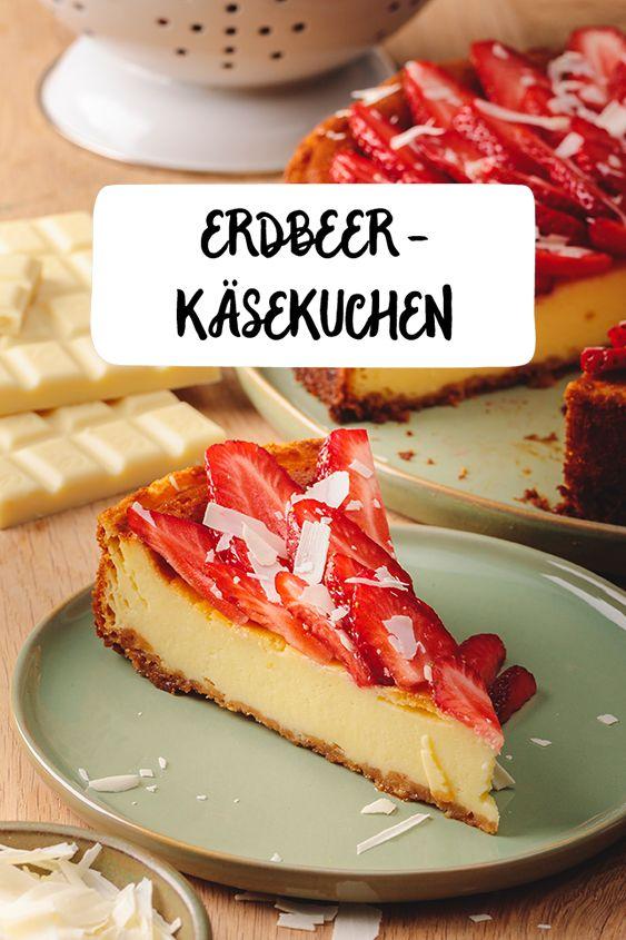 Erdbeer Kasekuchen Rezept In 2019 Alle Lieben Kuchen Kuchen