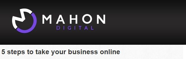 5 steps to take your business online