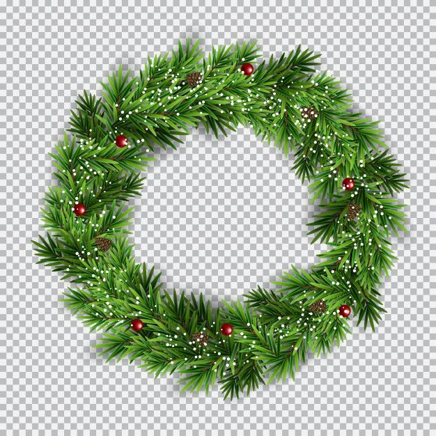 Freepik Graphic Resources For Everyone Christmas Wreaths Transparent Background Christmas Vectors