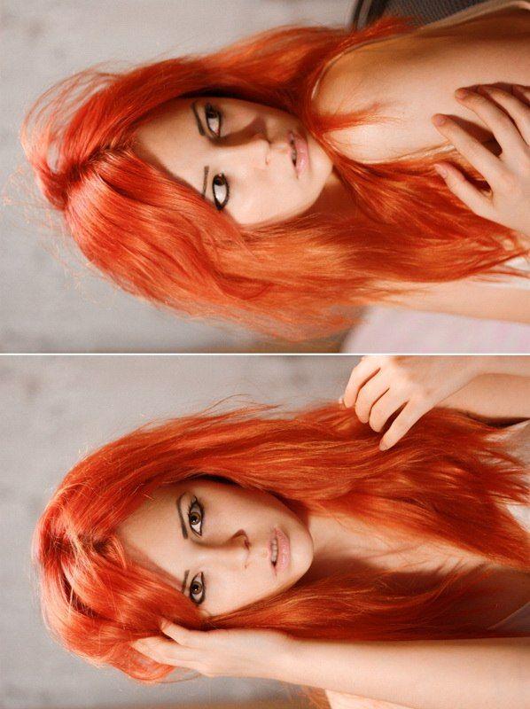 #color hair #colorhair #orange hair #orangehair #girl #portrait  #цветные волосы #цветныеволосы #рыжие волосы #оранжевые волосы #рыжиеволосы #оранжевыеволосы #девушка #портрет #mf #missforiz