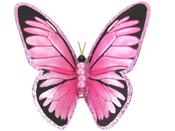 Pretty Pink Butterfly from Sunlight Butterflies Hand made in QLD Australia