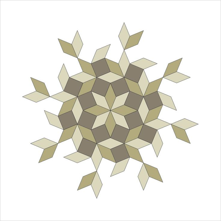 #027 Snowflake - 59-61 Project - Minimal graphic poster every day.
