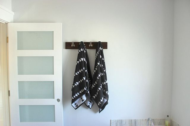 DIY Towel Rail in Master Bathroom by Home Coming, via Flickr