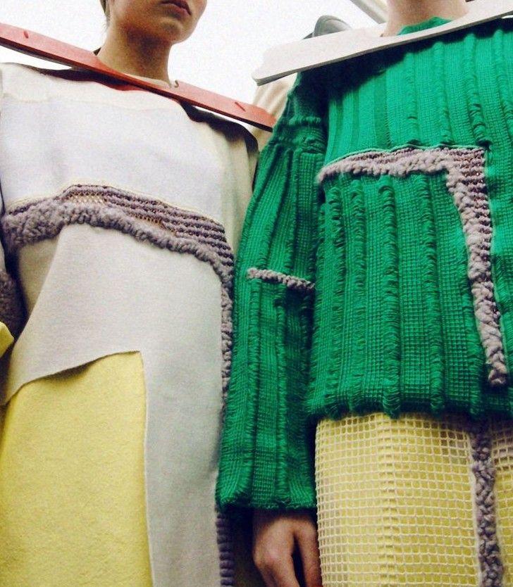 blueberrymodern:    Harriett Brown (Textiles), Natalie Hitchon (Knitwear)