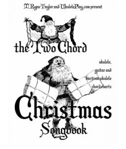 34 beautiful Christmas songs that sound great with just two chords each! Chord charts for ukulele, guitar and baritone ukulele included. Now on Scribd.