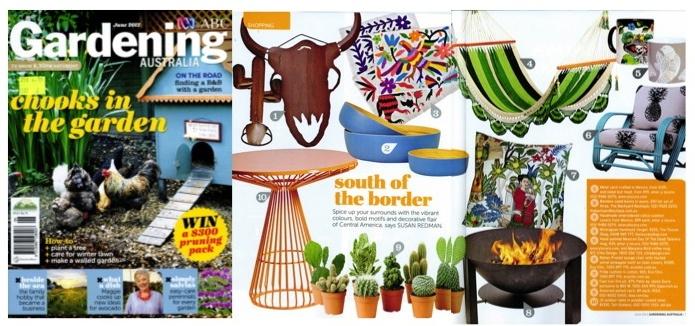 abc gardening magazine   the toucan shop hammock