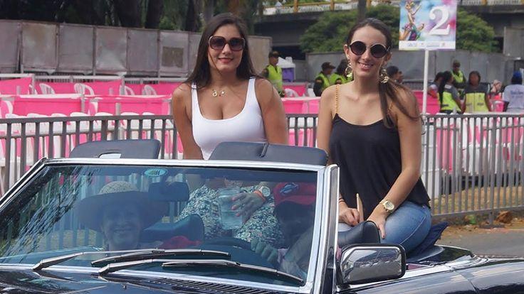 Cali vivió y disfruto el desfile de autos clásicos en la #FeriaDeCali, M...