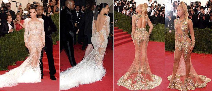 Kim Kardashian Beyoncé gala MET - Blow DryBar peluqueria madrid