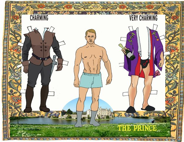 Prince Charming Paper Dolls!