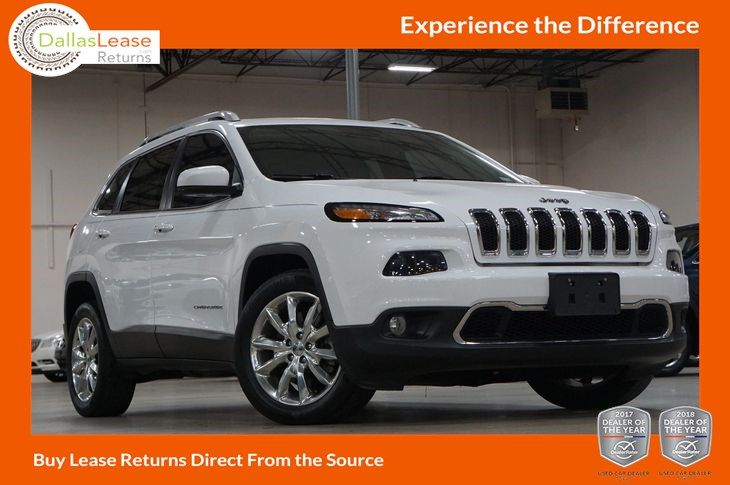 2016 Jeep Cherokee Limited Dallas Lease Returns Jeep Cherokee Jeep Cherokee Limited 2016 Jeep