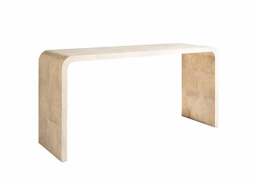 Shagreen Waterfall Console One Available in Southampton