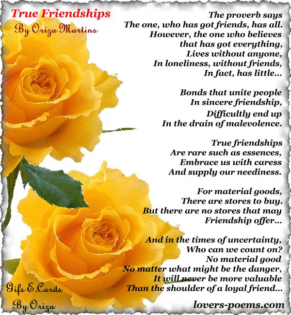 Romantic Poems for True Love | Love Poems by Oriza Martins - 2 - True Friendships... Love Quotes ...