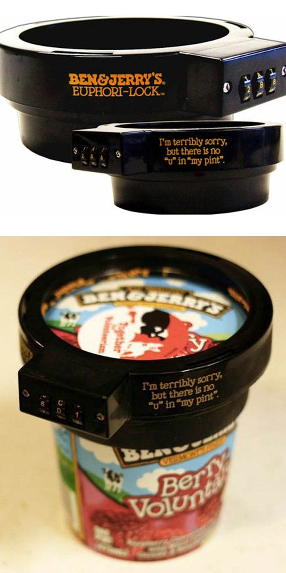 Ice Cream lock! Hahahaha