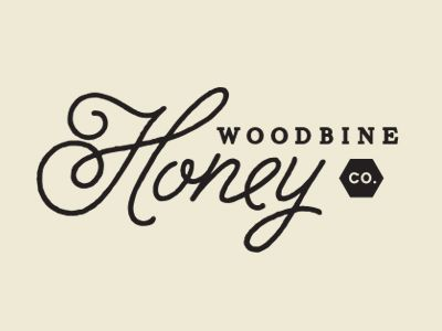 Woodbine Honey logo design - This is one of my fav's