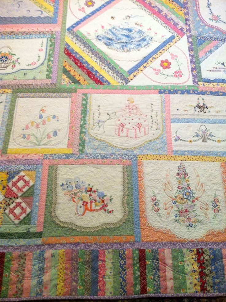 Best using vintage pieces in quilt images on pinterest