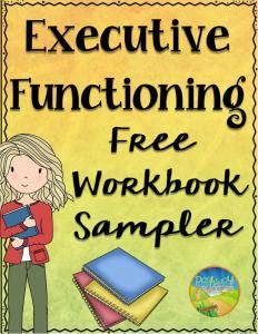 Executive functioning strategies