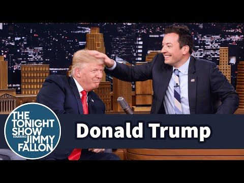 Watch As #DonaldTrump Let's TV Host Mess Up His Hair To Prove He Does Not wear Wigs. http://www.ipresstv.com/2016/09/watch-as-donald-trump-lets-tv-host-mess.html?m=1 #news