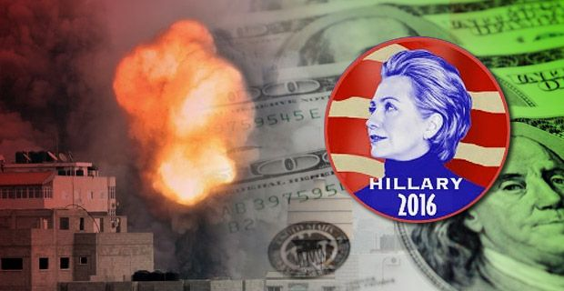 Hillary Clinton: Warmonger for the Bankster Elite Next president owned by the same banks and corporations as Obama and Bush