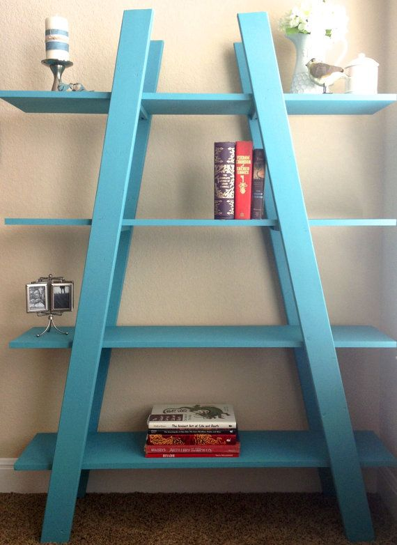 Truss Bookshelf Pick Up Only 48 x 14 x 65 by KimBorboleta on Etsy, $150.00