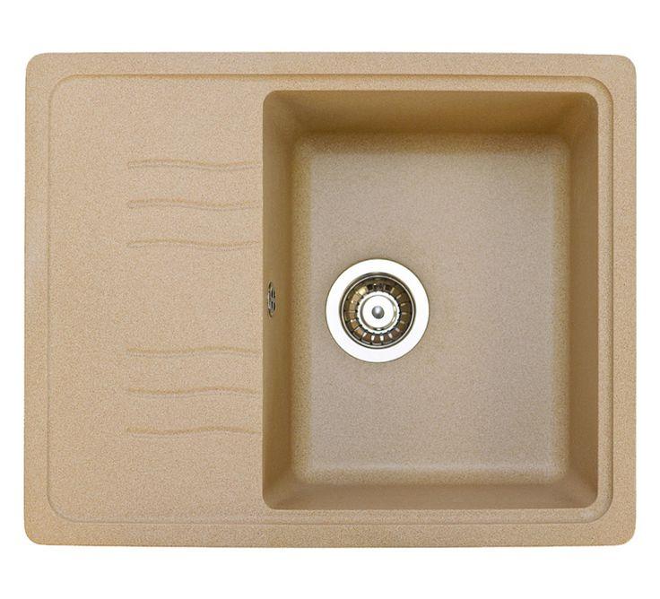 Кухонные мойки Fosto : Гранитная мойка FG 61-50