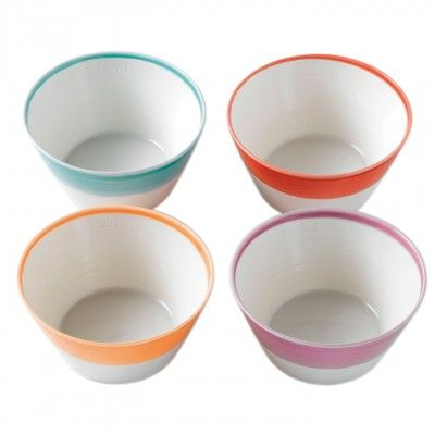 1815 Bright Colors Cereal Bowl, Set of 4