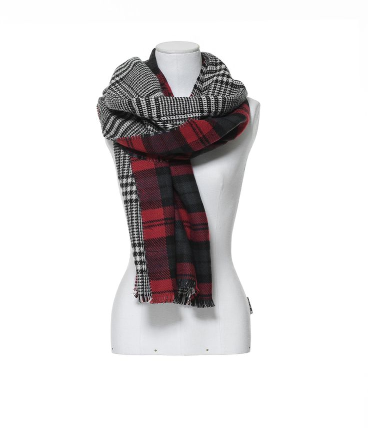 TWO - SIDED SOFT SCARF - Scarves - Accessories - Woman | ZARA United States