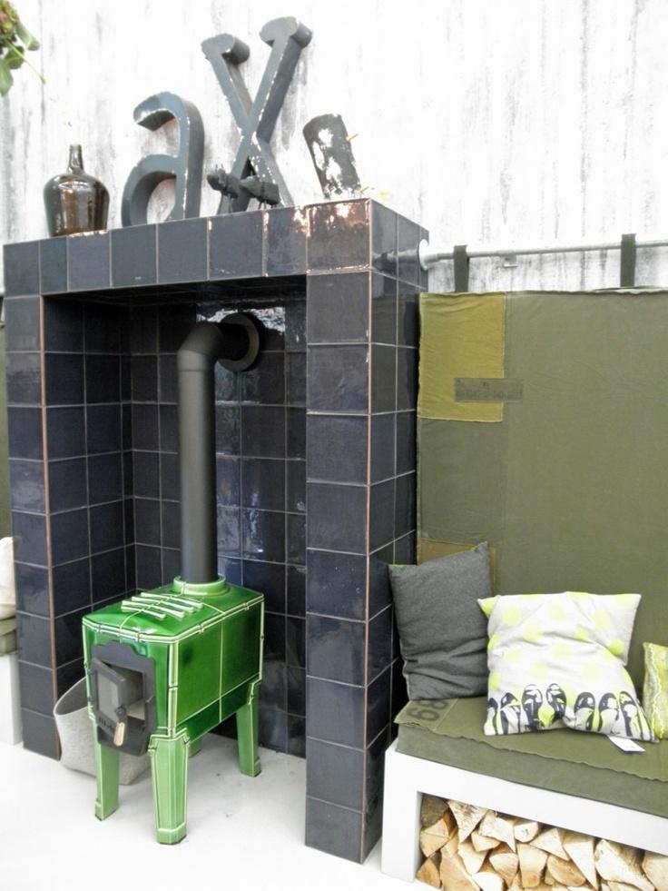 fireplace outside?