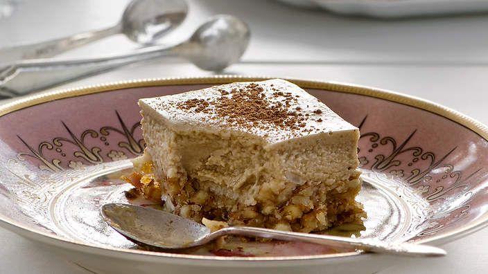 Vanilla latte squares recipe : SBS Food