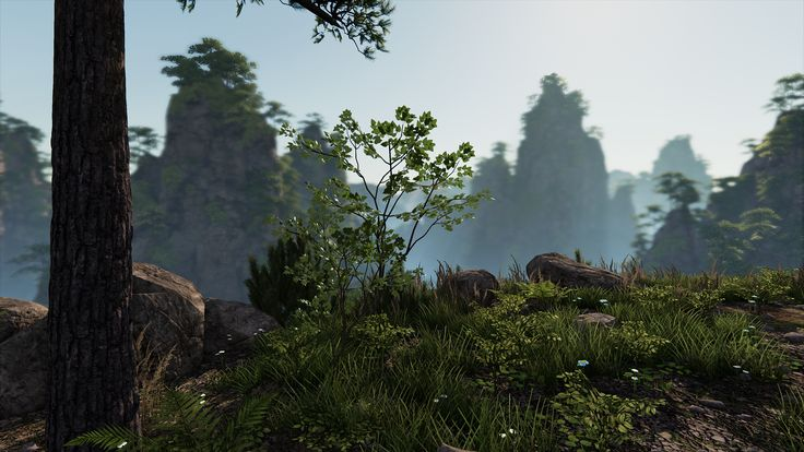 Huangshan Mountains UE4 - Page 2 - Polycount Forum