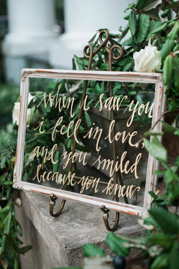 Pretty gold lettering | Cotton and Clover Photography