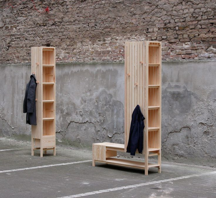 Meuble d'entrée Mixed-use freestanding units par Sebastian Erazo Fischer
