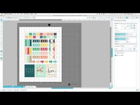 Awesome video for print and cut - tip on color overlay in Photoshop. Make your own Stickers   Print and Cut Tutorial — My Digital Art Studio