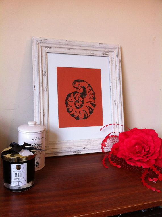 Hand made screen print, only one copy was made in this variation, the print comes signed, numbered and its printed on high quality hand made paper. Please note that the frame is only for decorative purposes. The print comes in card mount.