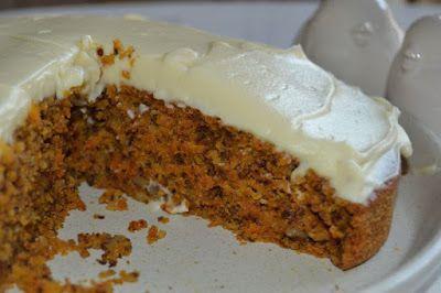 Slimming world: CARROT CAKE