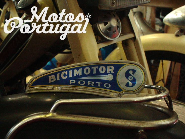 Bicimotor fender badge - Portuguese Moped