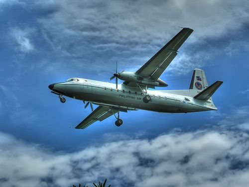 Philippine Air Force Fokker F27 - http://philippinesmegatravel.com/philippine-air-force-fokker-f27/