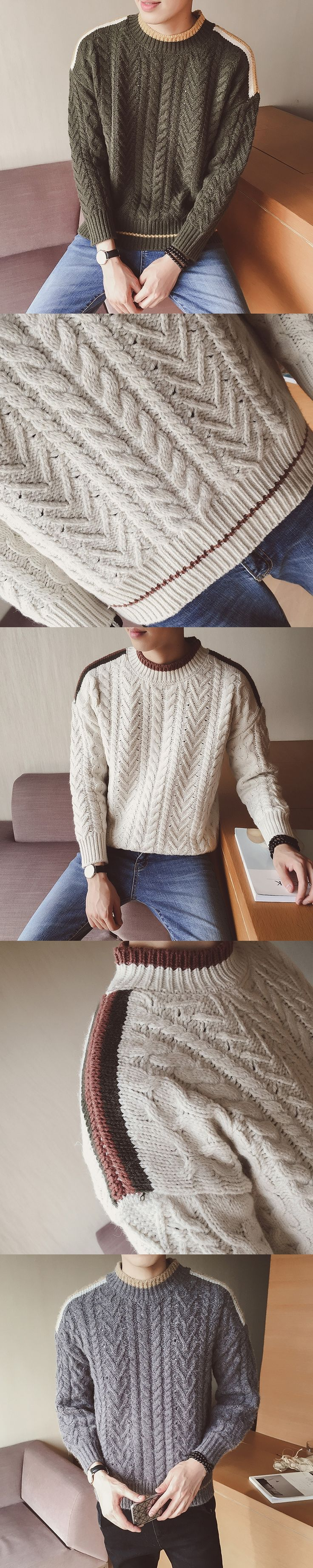 2017 Winter Men's Turtleneck Lovers Long Knit Sweater Warm Clothes Thickening Sleeve Outerwear Tops Casual Brand Knitwear