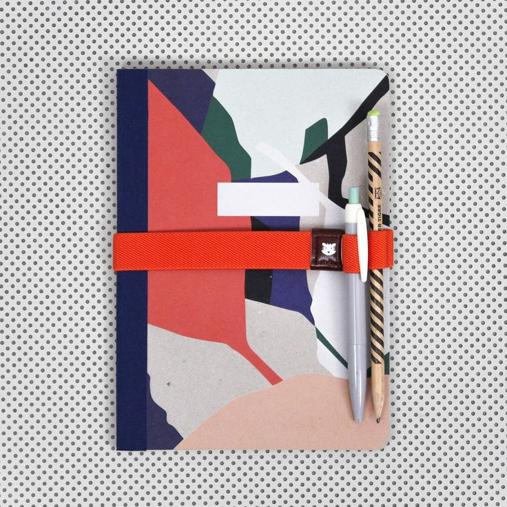 Lovely graphical notebook from Papier Tigre, a french brand