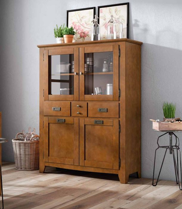 17 best images about vitrinas coloniales on pinterest for Muebles de pino precios