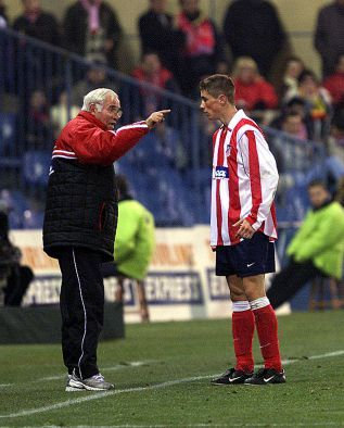 Manager Luis Aragonés (Atlético Madrid, 1974–1980 + 1982–1987 + 1991–1993…
